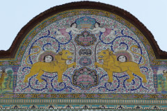 Naranjestan-e Qavam - Pediment Painting Shir o Khorshid