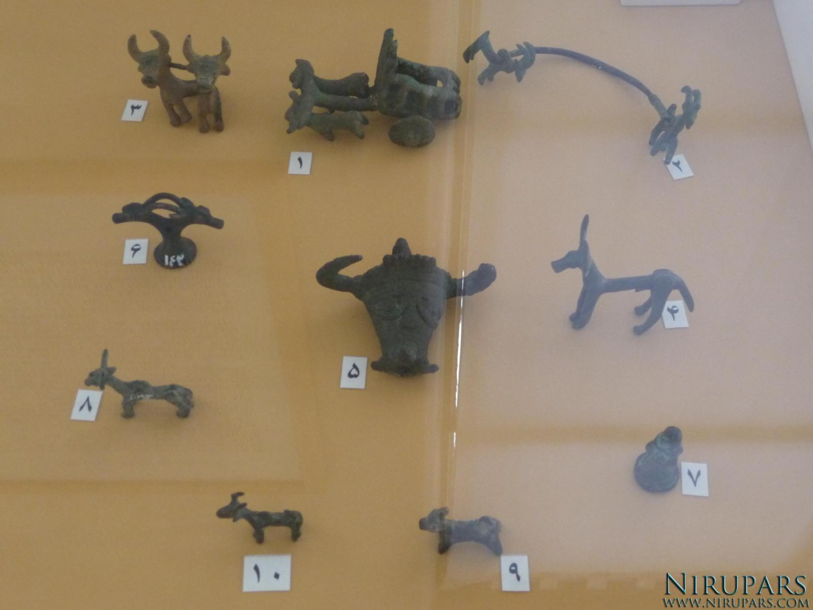 National Museum of Iran - Bronze Animal Figurines