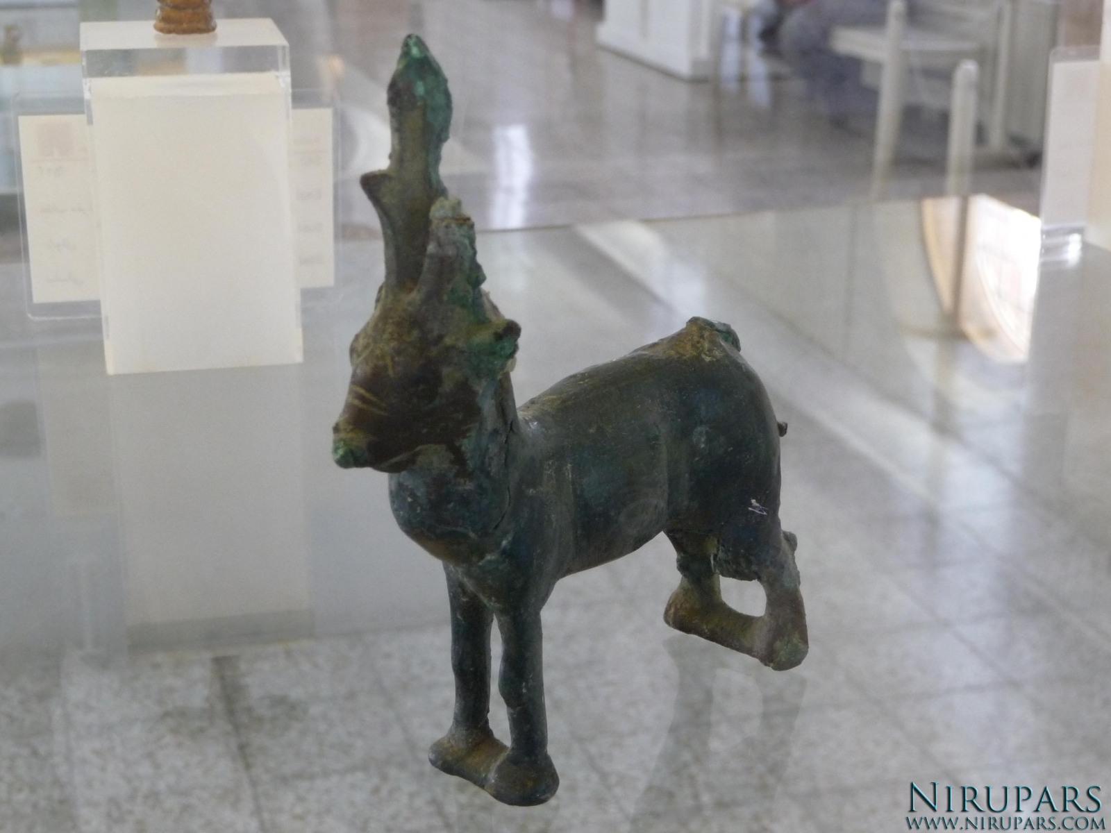 National Museum of Iran - Bronze Deer Figurine
