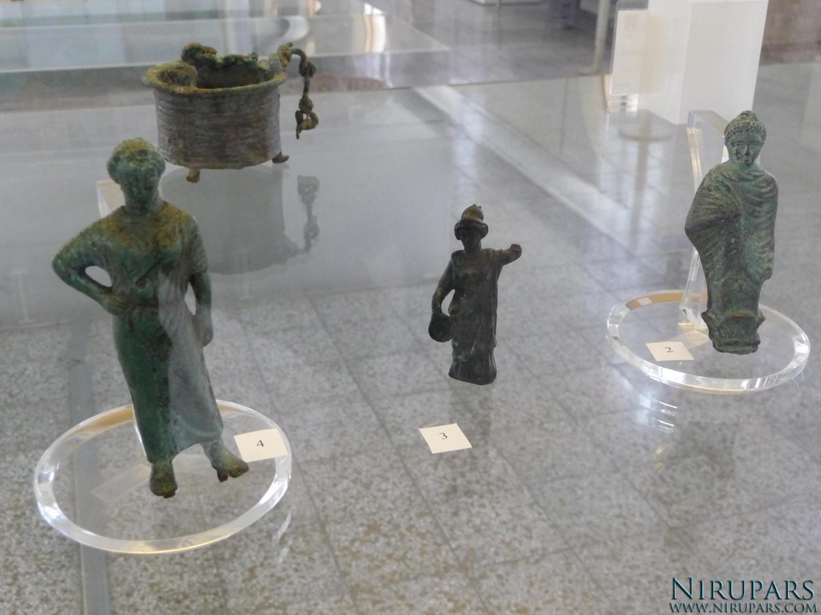 National Museum of Iran - Bronze Figurine Hermes Atena Woman