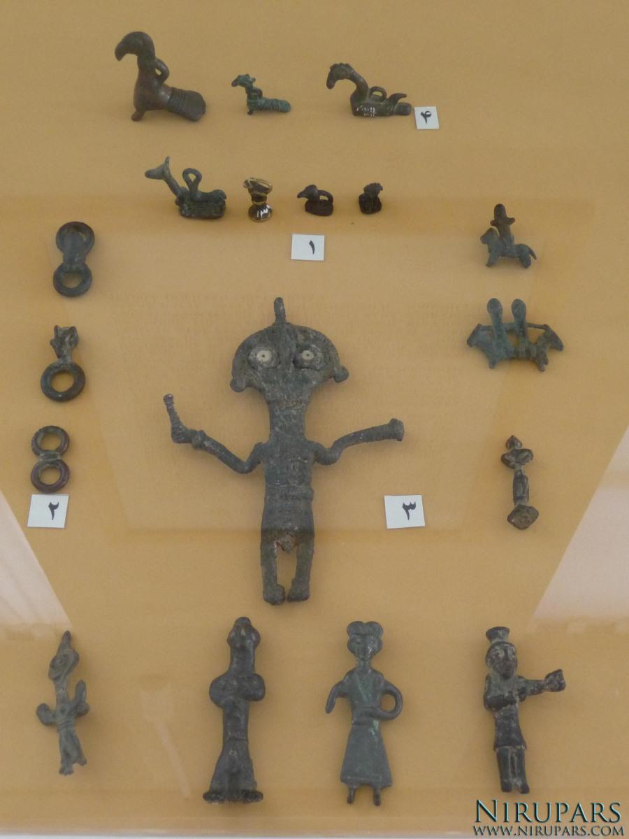 National Museum of Iran - Bronze Figurines Rings