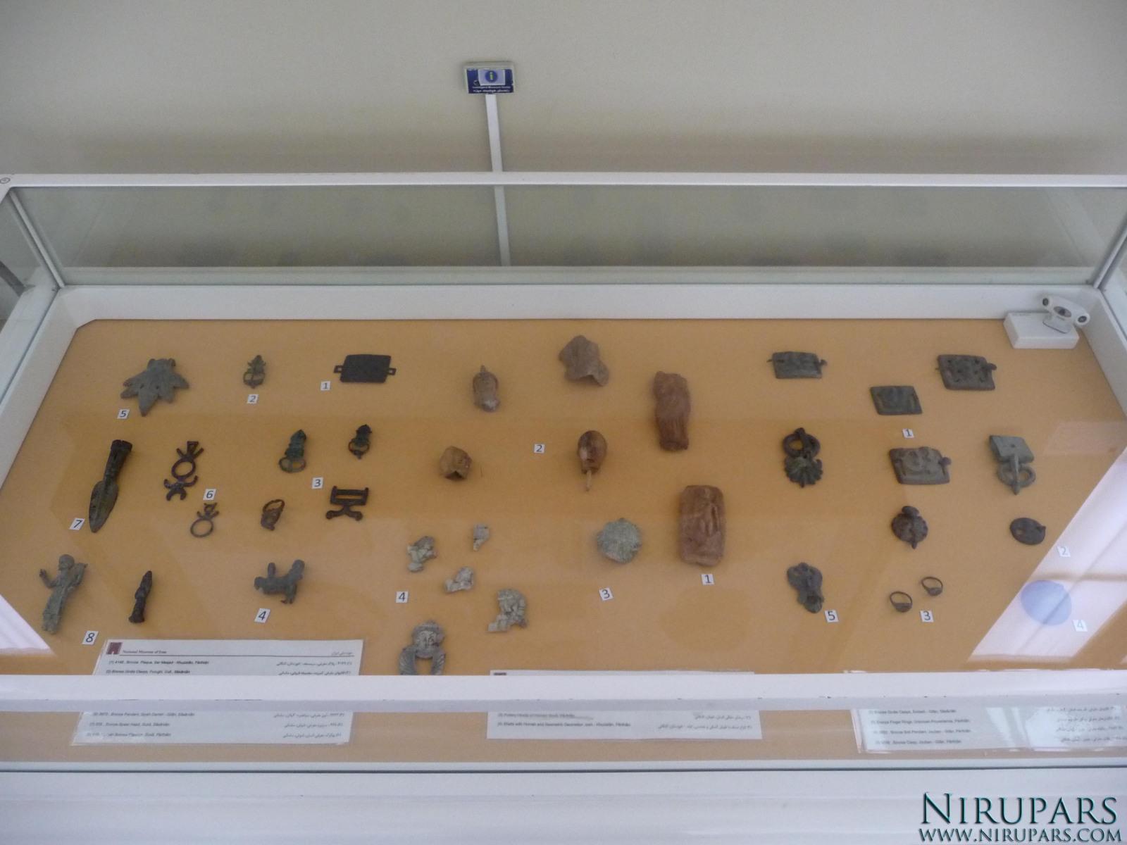 National Museum of Iran - Bronze Items - Ceramic