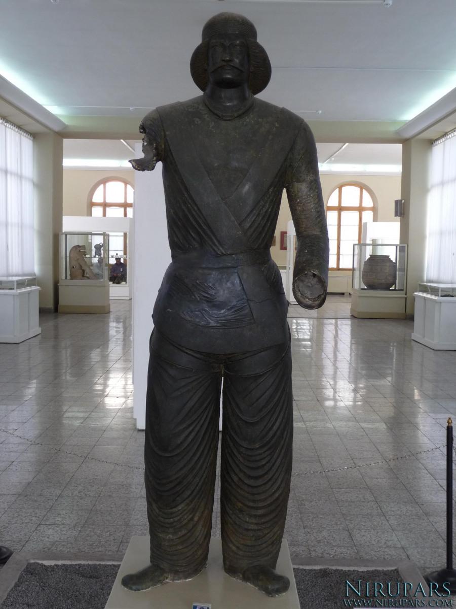 National Museum of Iran - Bronze Statue - Prince Shami