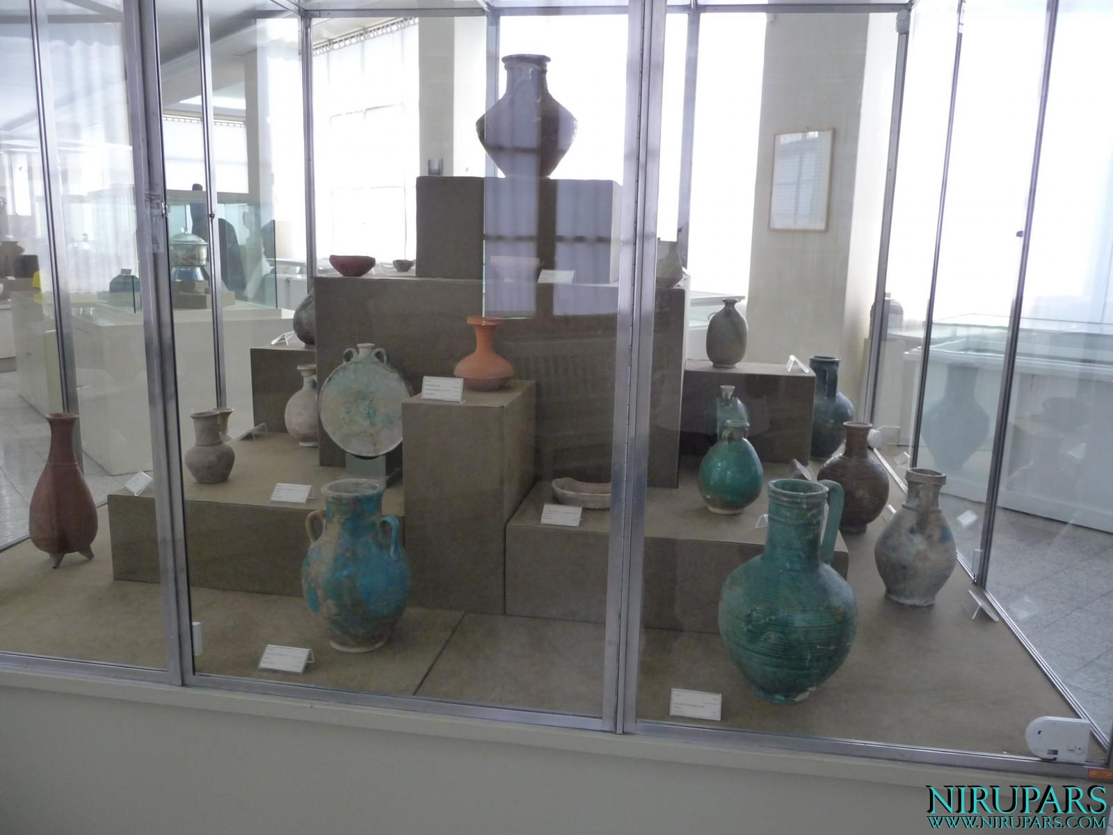 National Museum of Iran - Ceramic Amphoras Jugs Vessels