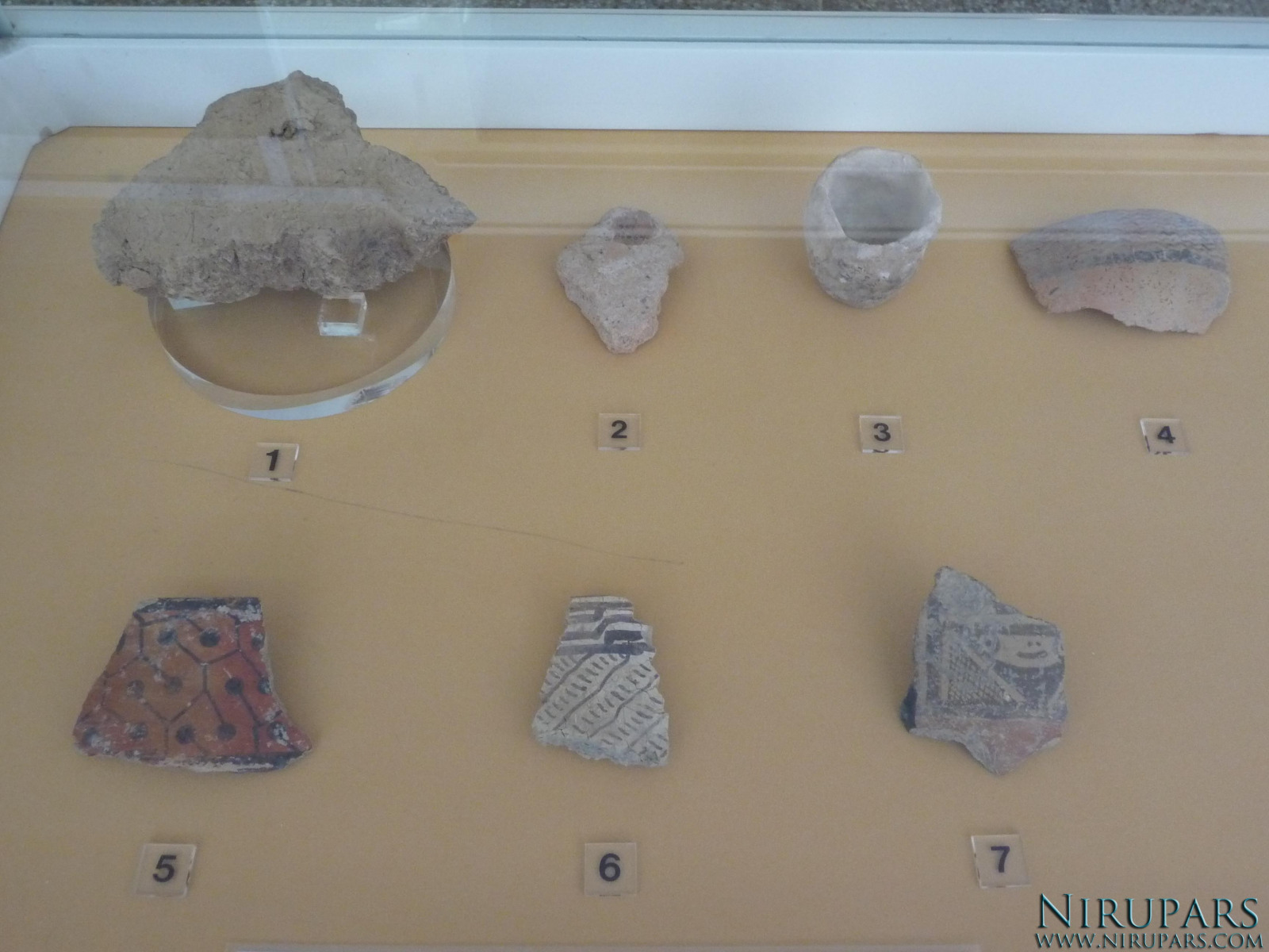 National Museum of Iran - Ceramic Objects Fragments