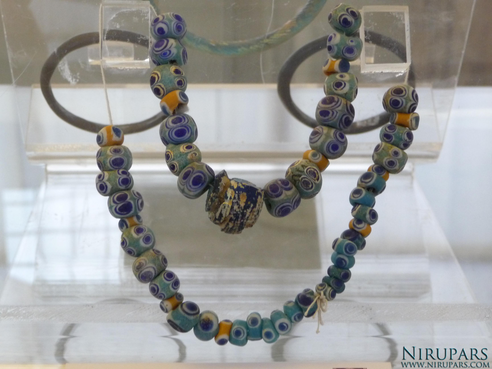 National Museum of Iran - Glass Necklace