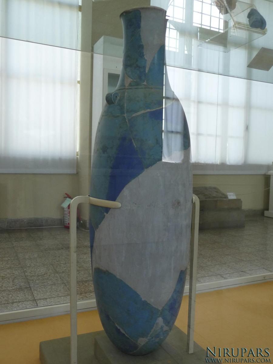 National Museum of Iran - Lapis lazuli - Vessel