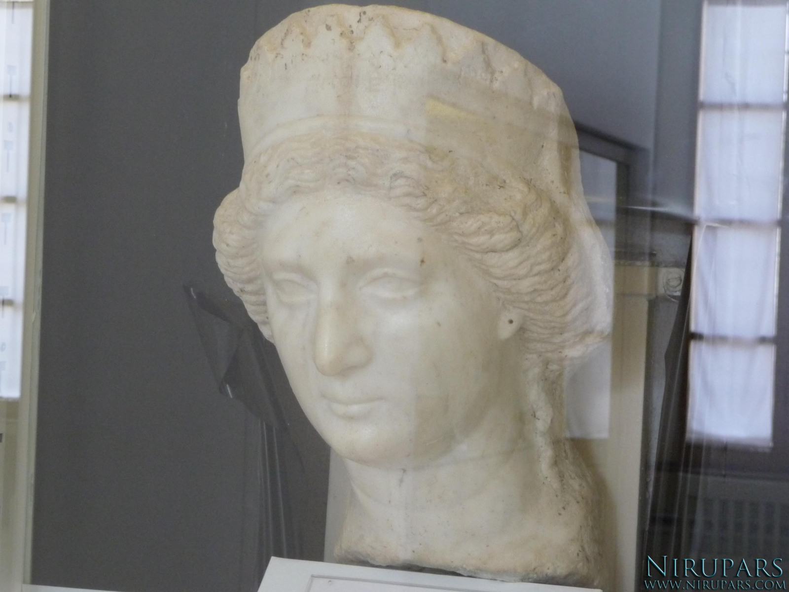 National Museum of Iran - Marble - Bust Woman