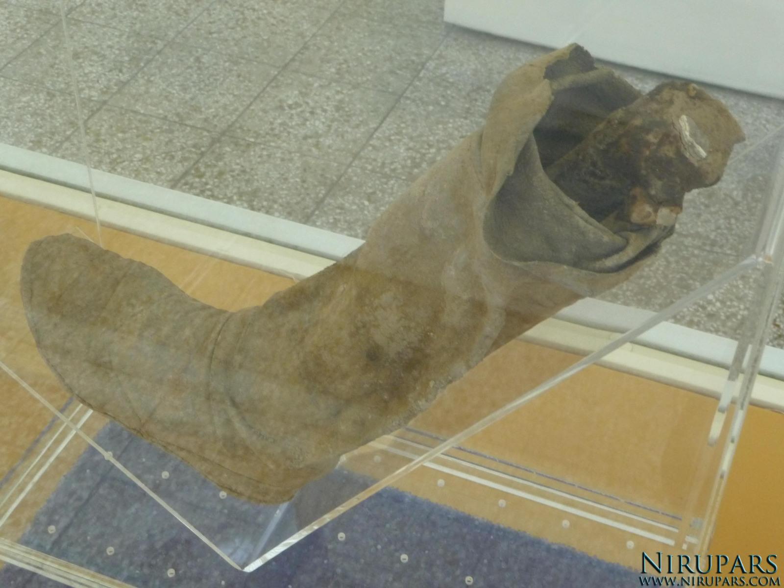 National Museum of Iran - Mummy - Foot Boot