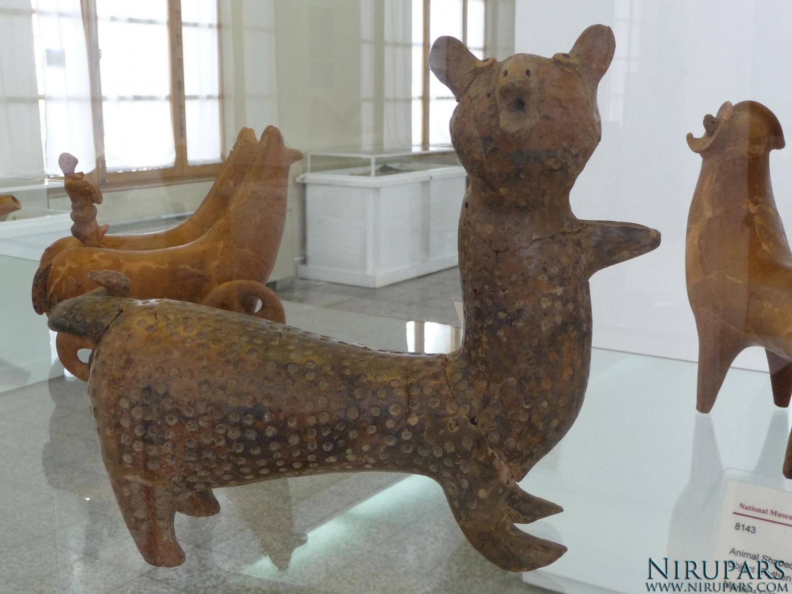 National Museum of Iran - Pottery Animal Figurine