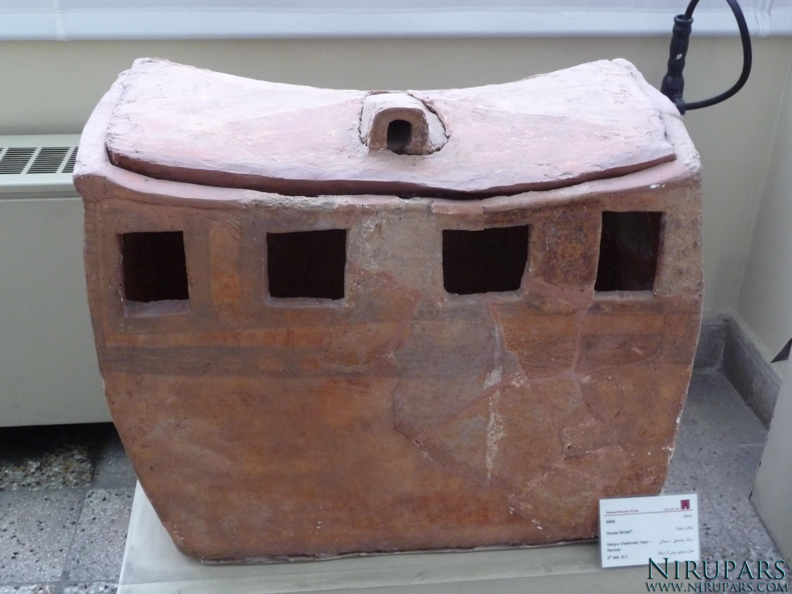 National Museum of Iran - Pottery Chest