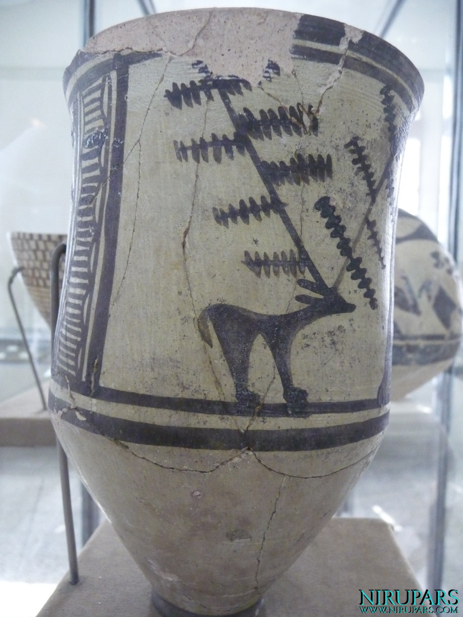 National Museum of Iran - Pottery Drinking Vessel