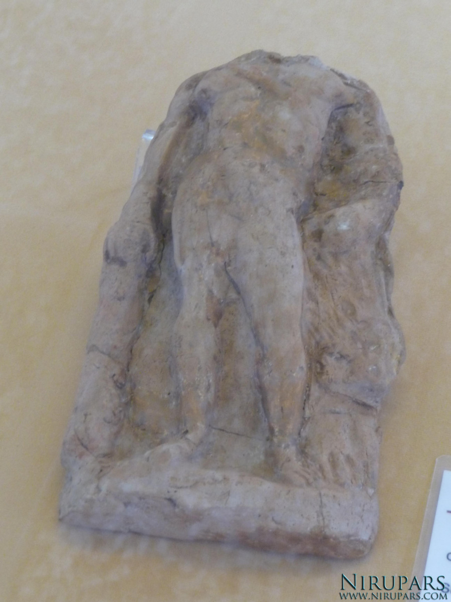 National Museum of Iran - Pottery Figurine Heracles