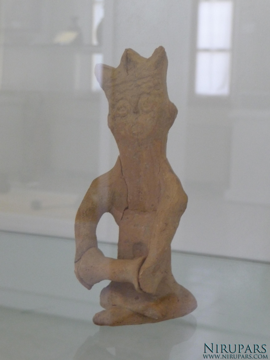 National Museum of Iran - Pottery Figurine