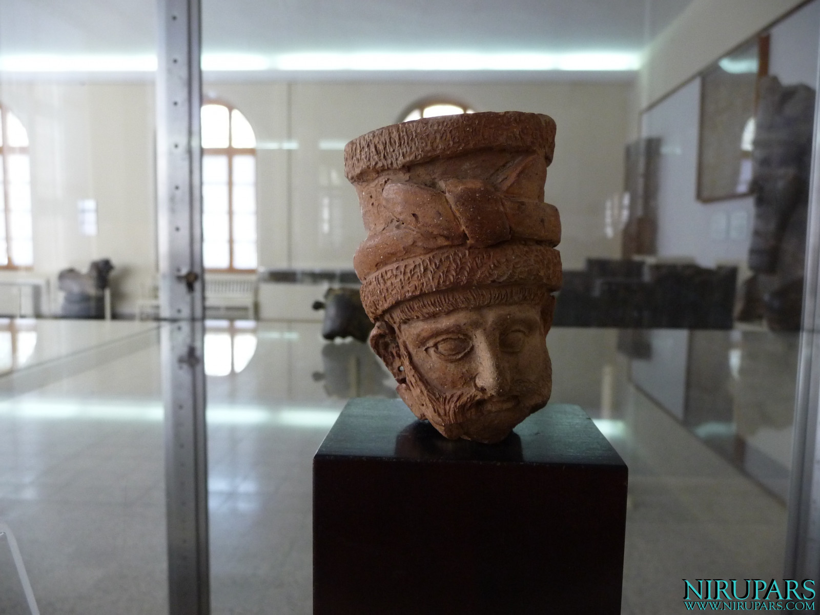 National Museum of Iran - Pottery Human Head