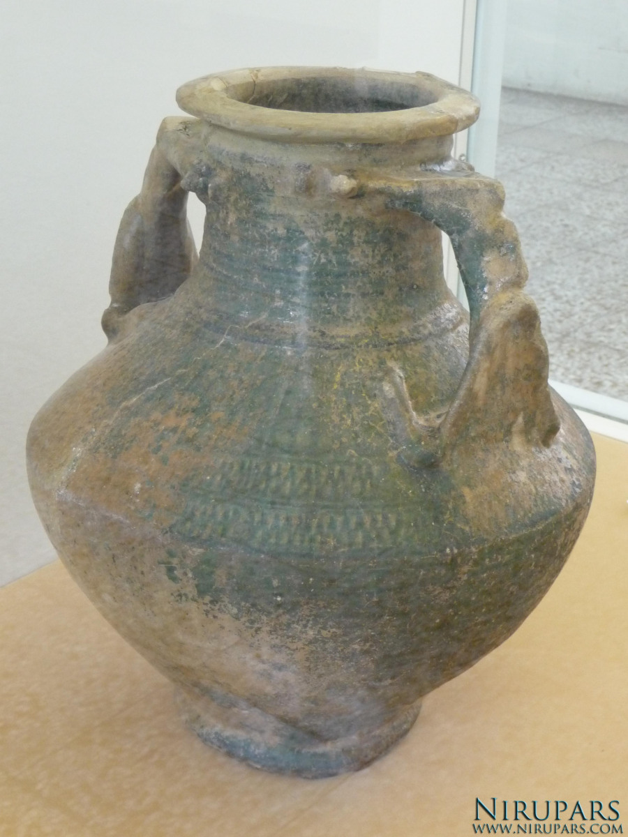National Museum of Iran - Pottery Jug Glazed