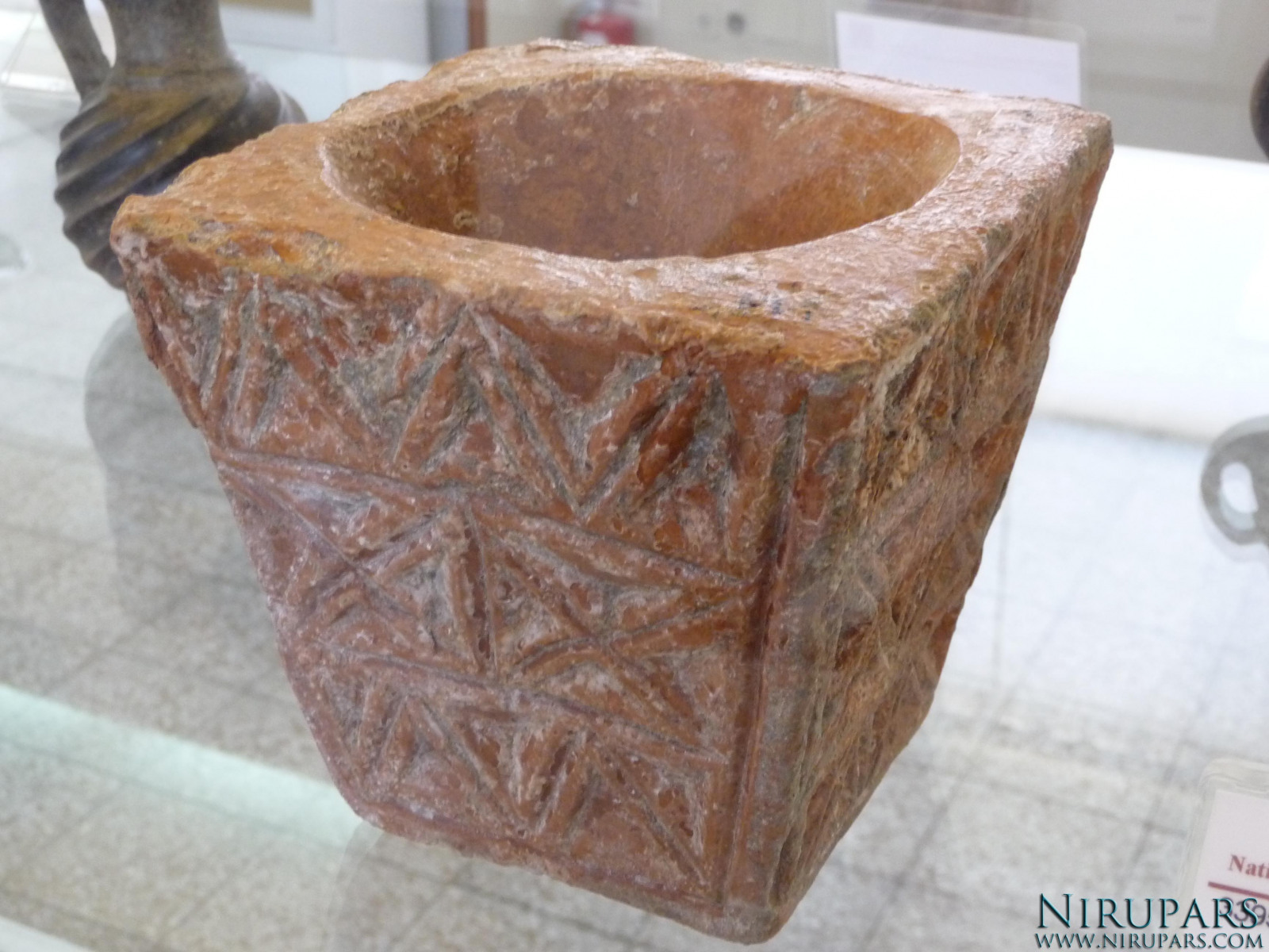 National Museum of Iran - Pottery Mortar