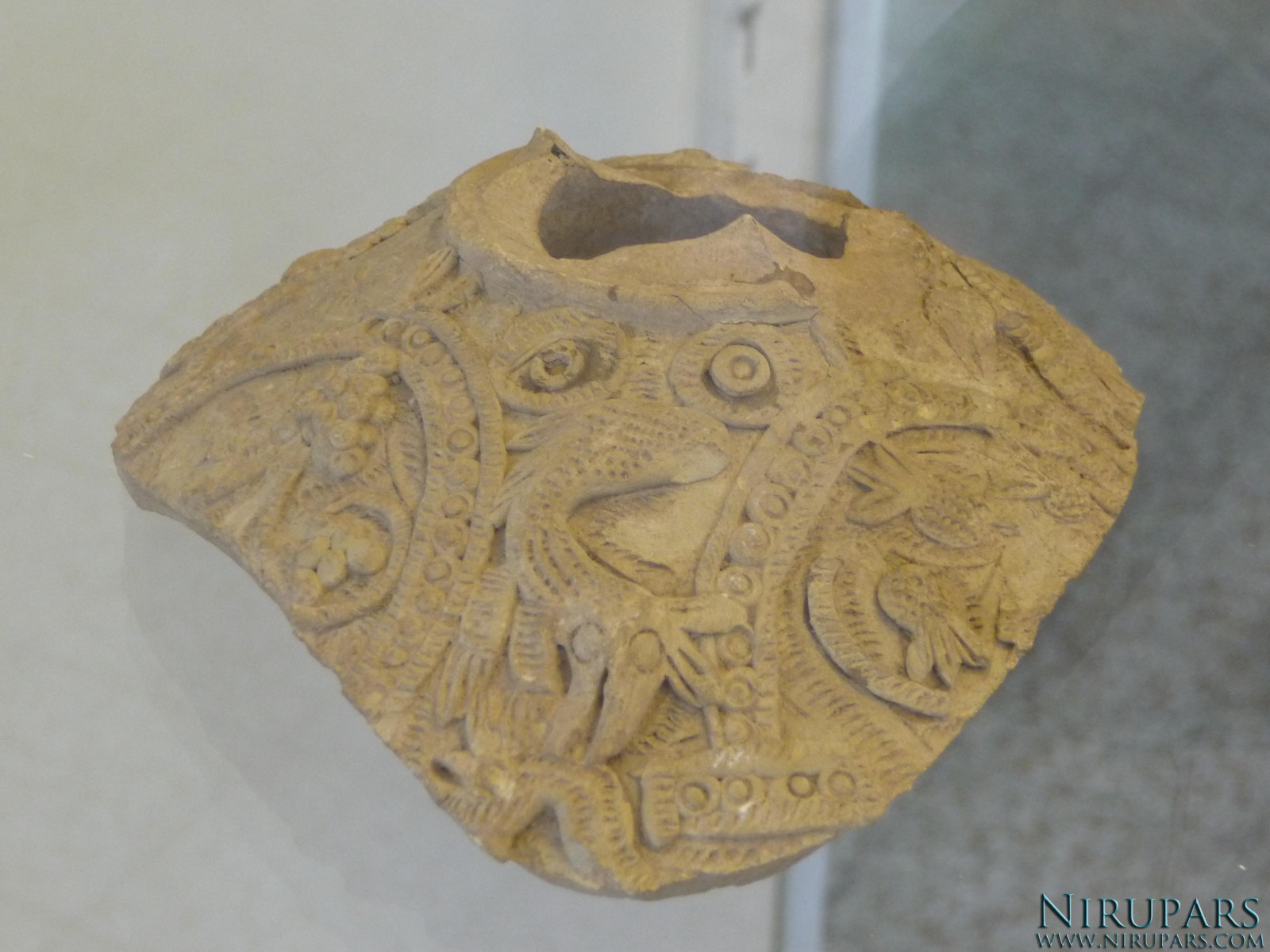 National Museum of Iran - Pottery Object Fragment