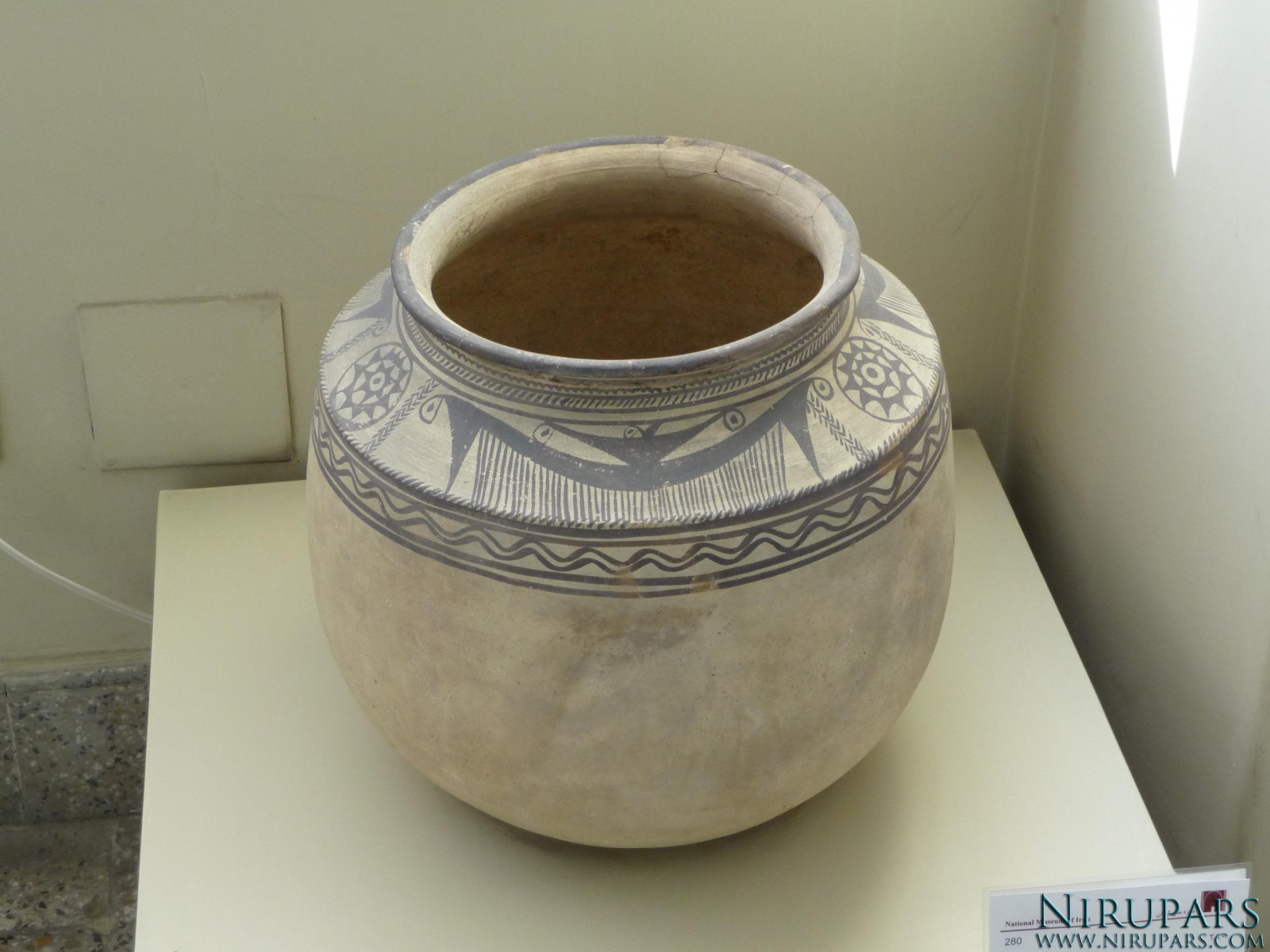 National Museum of Iran - Pottery Vessel