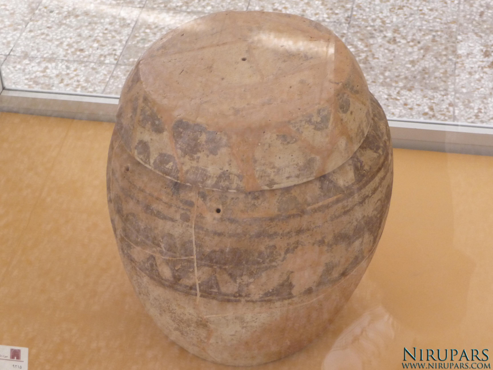 National Museum of Iran - Pottery Vessel Lid