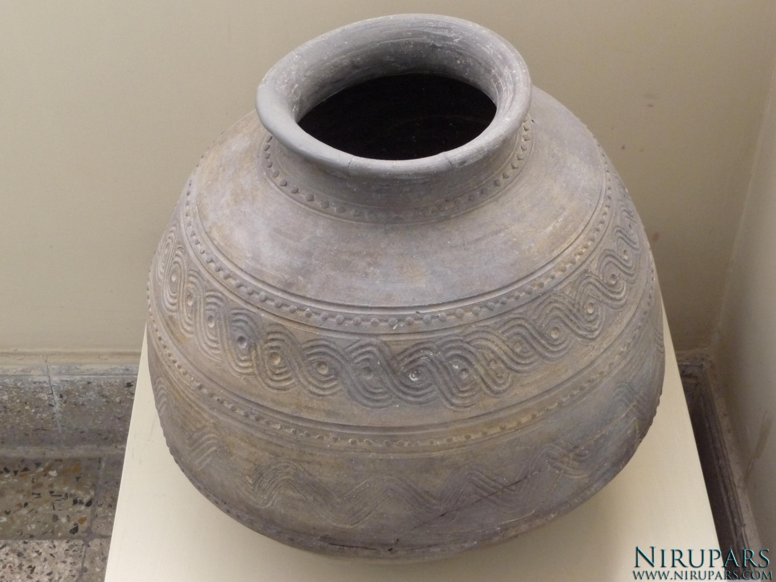 National Museum of Iran - Pottery Vessel - Ornaments