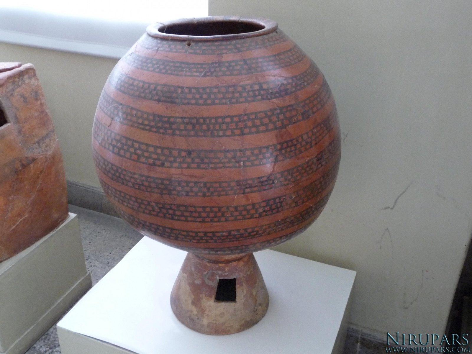 National Museum of Iran - Pottery Vessel Painted