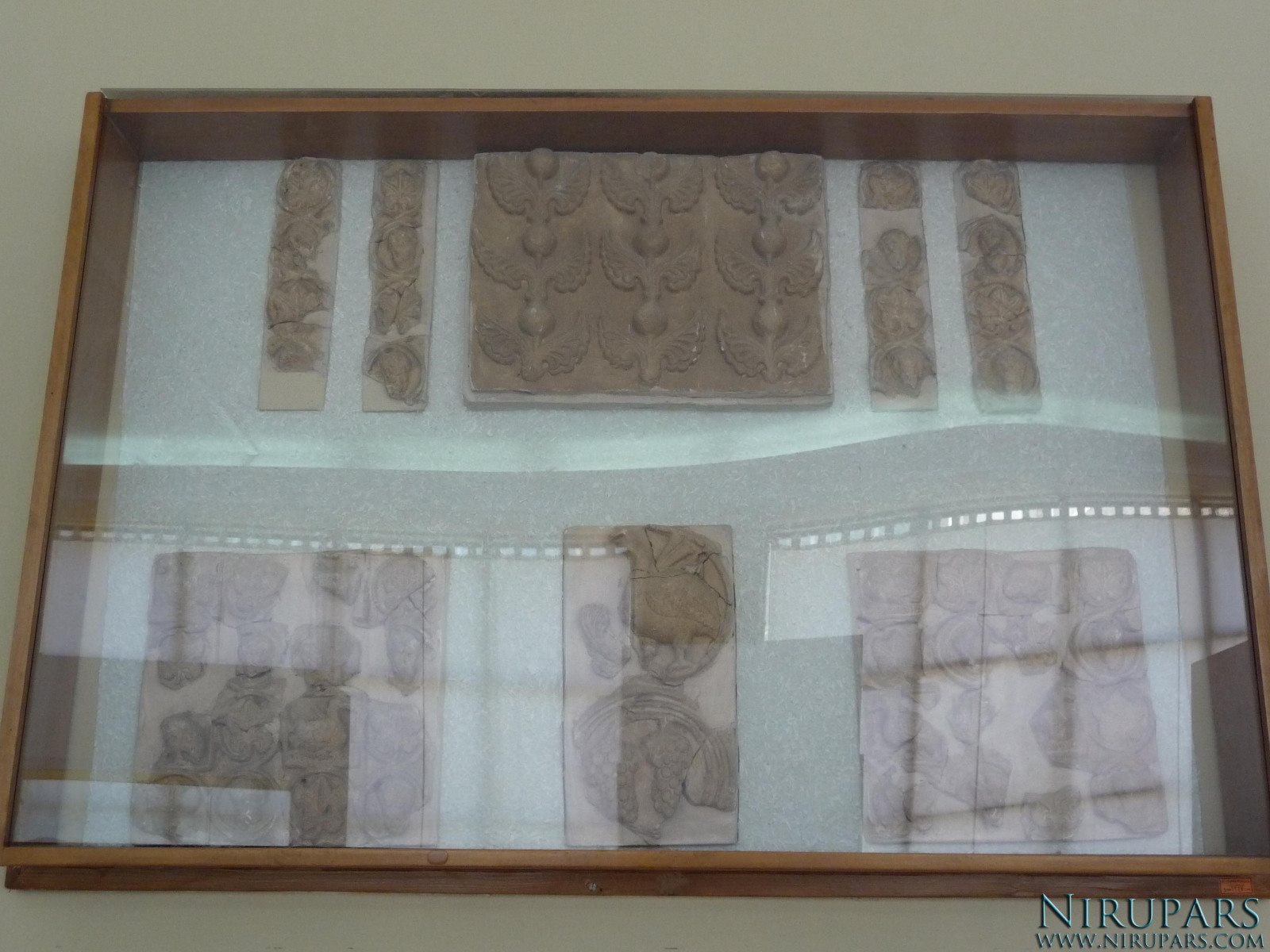 National Museum of Iran - Reliefs - Figures - Ornament Fragments