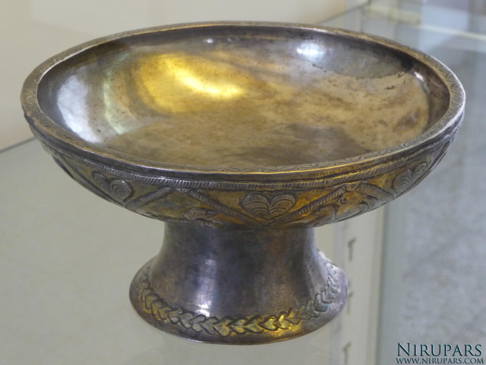 National Museum of Iran - Silver Gold Bowl