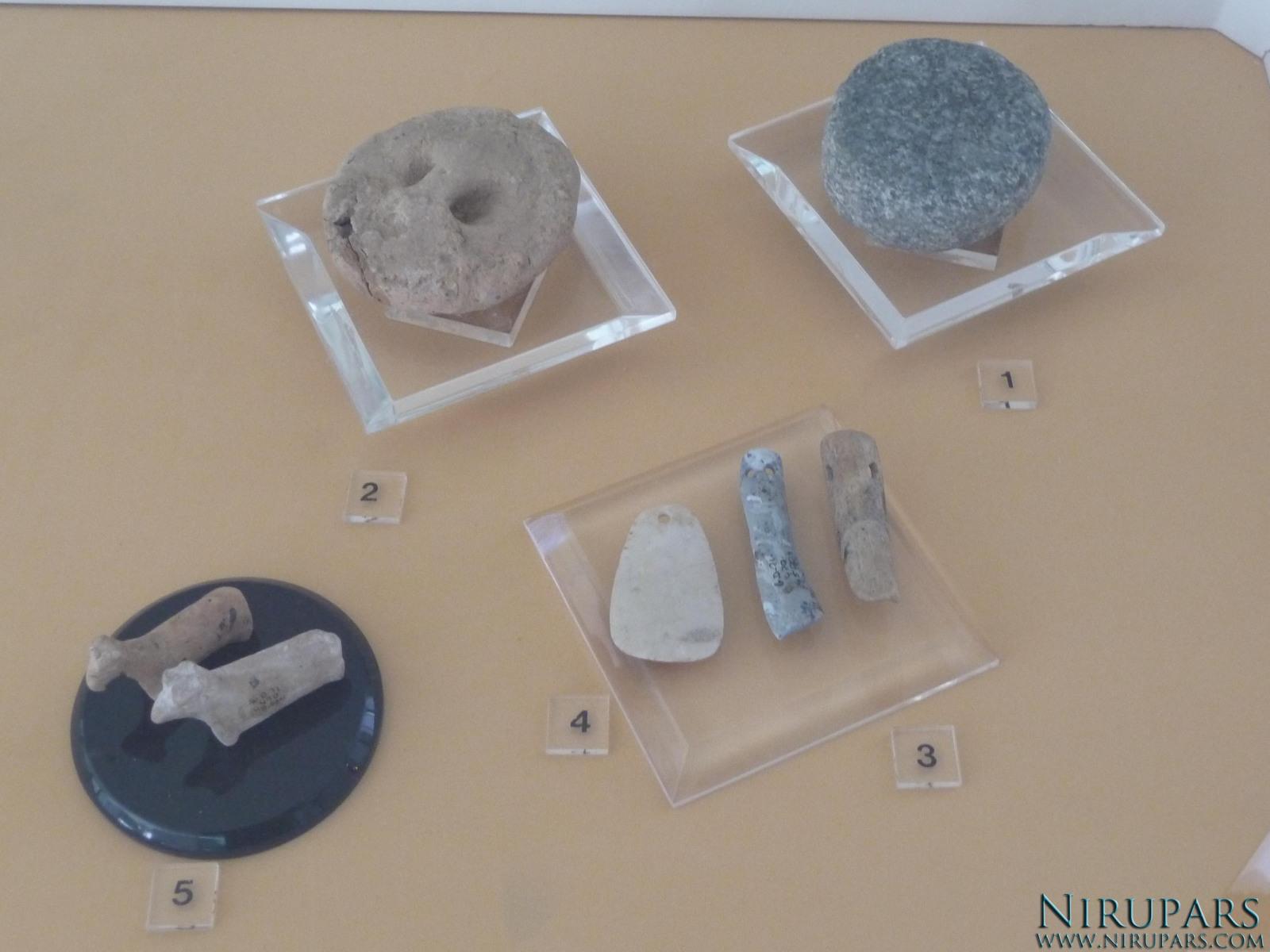 National Museum of Iran - Stone Bones Tools - Pottery Animal Figurine