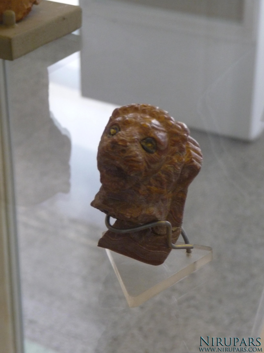 National Museum of Iran - Stone Lion Head