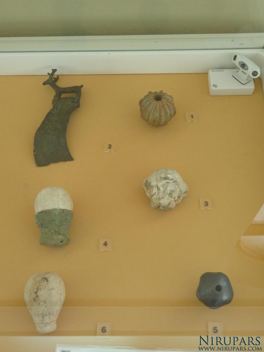 National Museum of Iran - Stone Mace Heads