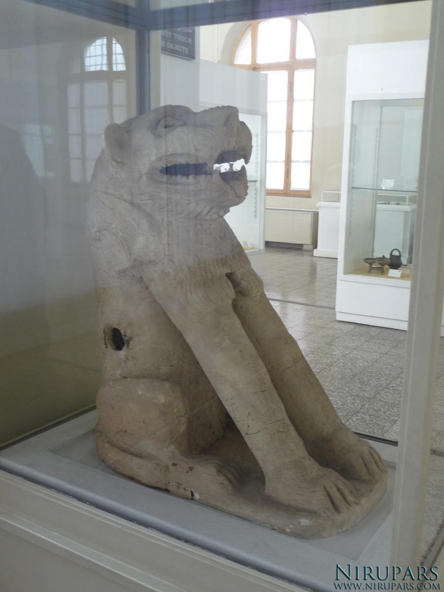 National Museum of Iran - Terracotta Lion Sculpture