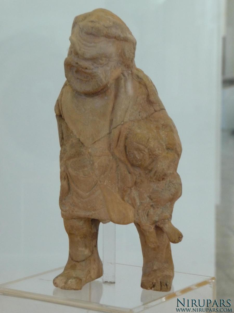 National Museum of Iran - Terracotta - Roman God of Fertility Bakus