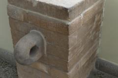 National Museum of Iran - Bricks Inscription Door Bolthole