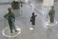National Museum of Iran - Bronze Figurine Hermes Atena Woman