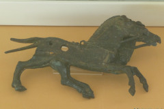 National Museum of Iran - Bronze Horses Figurine