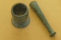 National Museum of Iran - Bronze Mortar Pestle