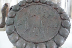 National Museum of Iran - Bronze Plaque - Gilgamesh Motif