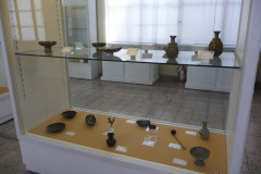 National Museum of Iran - Display Window - Silver Bronze Items