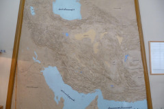 National Museum of Iran - Map Iran