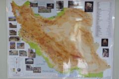 National Museum of Iran - Map Iran