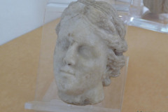 National Museum of Iran - Marble - Head Woman