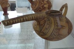 National Museum of Iran - Pottery Jug Painted