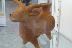 National Museum of Iran - Pottery Rhyton Bull