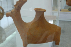 National Museum of Iran - Pottery Rhyton Deer