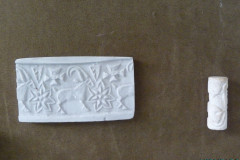 National Museum of Iran - Pottery Stamps