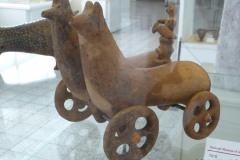 National Museum of Iran - Pottery Vessel Chariot