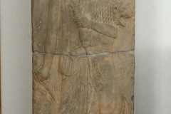 National Museum of Iran - Relief King Lion Fight