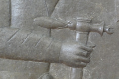National Museum of Iran - Throne Relief - Armorer Pickaxe - Duckhead