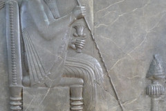National Museum of Iran - Throne Relief - Darius the Great